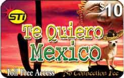 sti te quiero mexico prepaid phone card - Phone Calling Cards