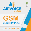 Airvoice GSM Monthly Plan - RTR