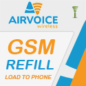 Airvoice GSM Refill - RTR
