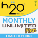 H2O Monthly Unlimited Plans - RTR