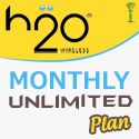H2O Monthly Unlimited Plans - PIN