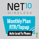 Net10 Monthly Plan - RTR