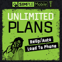 SIMPLE Mobile Unlimited Plans - RTR