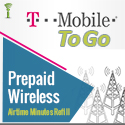 T-Mobile To Go Refill - PIN