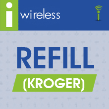 i-Wireless® Refill (Kroger)