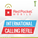 Red Pocket International Calling Refill