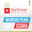 Red Pocket Mobile Monthly Plan GSMA